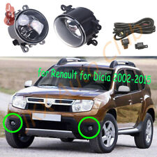 For Dacia Duster Sandero Logan 04-15 Fog Light k Bumper Lamp w/ Harness Switch