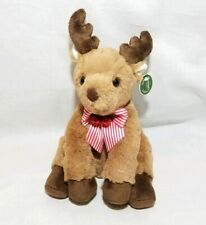 "9"" HOOFINGTON*Bearington Bear Collection* New 2018*NWT*Christmas*REINDEER*174014"