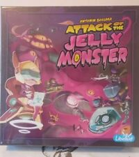 Attack of the Jelly Monster Board Game Libellud Brand New and Sealed