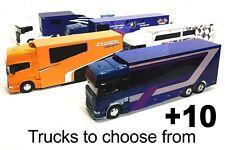 More details for brisca f1 die cast model stock car truck transporter