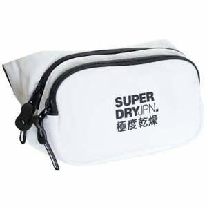 Men's Superdry Small Bum Bag White