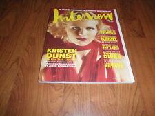 Vintage KIRSTEN DUNST Interview Magazine-Mint 2006