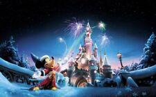 DISNEYLAND  PARIS TICKET — 1 Day 2 Parks Super Magic Plus Adult