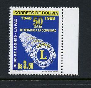 C147  Bolivia 1999   Lions Club   1v.   MNH