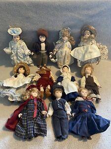 20 Plus Victorian Porcelain Doll House Dolls Please Read