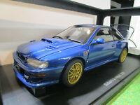 SUBARU IMPREZA 22B bleu au 1/18 de AUTOART 78602 voiture miniature de collection