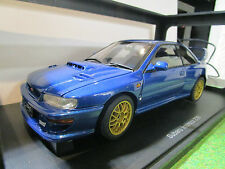 SUBARU IMPREZA 22B bleu au 1/18 de AUTOART 78602 voiture miniature de collection