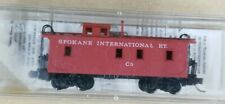 N Scale Micro Trains #50130 34' Spokane International Ry. Caboose