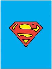 "Rare DC Comics Superman/Clark Kent Logo Textile Poster Flag 30"" x 40"" Brand New"