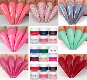 Kiara Sky Coloured Nail Dip Powder acrylic titanium IT
