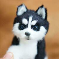 Realistic Husky Dog Simulation Toy Dog Puppy Lifelike New Stuffed Toy 2020 S7F5