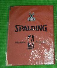 Nba Spalding Binders Milwaukee Bucks David Stern Official Game Ball