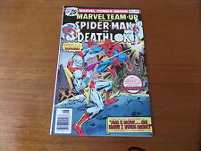 Marvel Team up 46 Spiderman and Deathlok Vol 1 High Grade