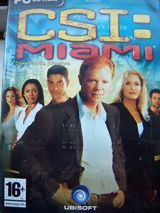 CSI= MIAMI---CRIME ALWAYS HAS A PRICE---HIDDEN OBJECT---PC CD