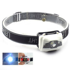 Mini Led Headlamp Outdoor Headlight Frontal Light Torch Lamp with AAA Battery