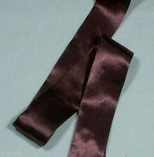 Chocolate Brown 11003 100 Acetate Satin Blanket Binding 72mm X 4 Metres