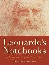 Leonardo's Notebooks: Writing and Art of the Great Master, Da Vinci, Leonardo, A