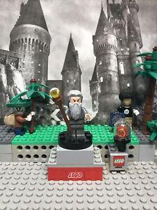 Lego L.O.R. Mini Figure Collection Series Gandalf The Grey Lor061 / 2013 + Bonus