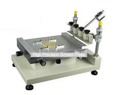 Manual PCB Screen Press Precise Stencil Solder Printing Machine High Precision A