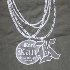 Karl Kani Short Sleeve olive green Rhinestone T-shirt