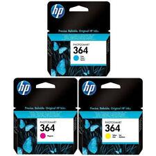 Original Genuine HP 364 Cyan Magenta Yellow Ink Cartridges For Deskjet 3520