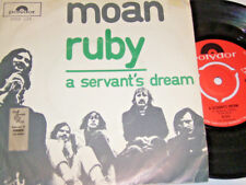 "7"" - Moan - Ruby & A Servant´s Dream - 1971 Dutch # 4933"