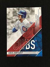 """KRIS BRYANT INSERT """"HANK ARRON AWARD"""" 2017 TOPPS CHICAGO CUBS BASEBALL CARD"""