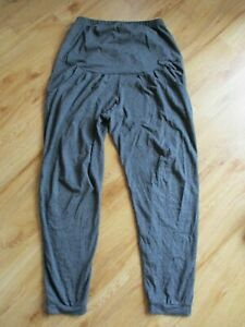 DOROTHY PERKINS MATERNITY GREY MARL CASUAL LOUNGE TROUSERS SIZE 10