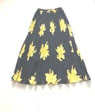Women Multi Color Antthony Mark Hankins Long Pleated Skirt sz M