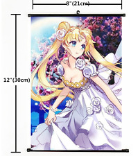 Anime Sailor Moon Crystal Wall Scroll Home Decor Poster Cosplay Gift 1373