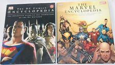 Marvel & DC COMICS Encyclopedia Lot Of 2 BOOKS DK Comics Comic Book