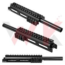 Tactical SKS Rifle Gas Tube Scope Optics Mount Picatinny Side Rails Low Profile