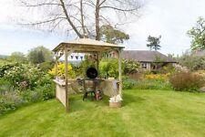 Zest 4 Leisure Broxton Wooden Garden Gazebo Shelter Arbour Canopy Roof BBQ