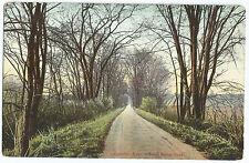 Lancaster MA Seven Bridge Road #2 Mass Vintage Old Postcard