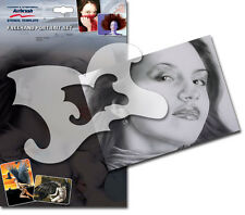 HARDER & STEENBECK AIRBRUSH STENCILS - FREEHAND PORTRAIT SET