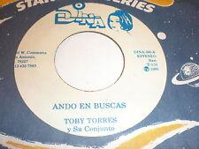 Toby Torres Y Su Conjunto 45 Ando En Buscas DINA