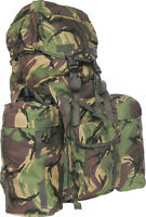 PLCE BERGEN FULL SIZE 120 LITRES BRITISH ISSUE DPM CAMO GENUINE ARMY WOODLAND