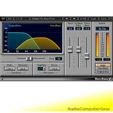 Waves MAXXBASS Maxx Bass Enhancer Audio Software Plugin NEW