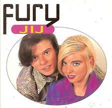 FURY - jij CDS!! eurodance 1996 ENZO BELGIUM RARE!!