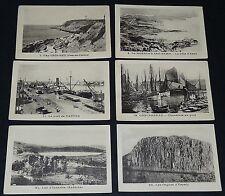 RARE 6 IMAGES PHOTOS ECOLE 1930 MONACO NANTES CONCARNEAU ESPALY GRIS-NEZ