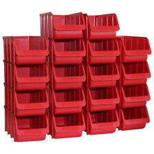 Stapelboxen Sichtlagerboxen 167x102x76 mm Gr.2 gr/ün 40 St/ück Hobby