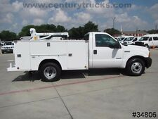 F-350 POWERSTROKE DIESEL 9' SERVICE BODY UTILITY BED WORK TRUCK LIFTMOORE CRANE