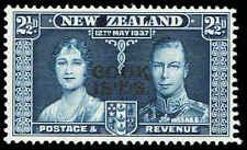 Scott # 110 - 1937 -  ' Queen Elizabeth & King George VI ', New Zealand # 224