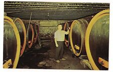 HEINEMAN WINERY Casks Barrels Fermentation Wines  PUT-IN-BAY Ohio Postcard OH