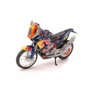 Burago KTM 450 Rally (Dakar Rally)  Red Bull Motorcycle 1:18  UK Seller