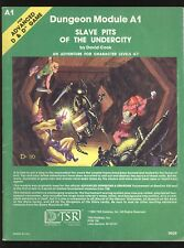 Slave Pits Of The Undercity Dungeons & Dragons AD&D TSR 9039 Complete