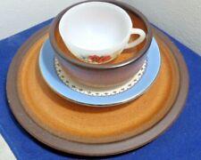Mismatch Vintage Dining Set for One Cup Saucer Bowl Plate