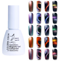 10ml Holographic Chameleon Magnetic Cat Eye Soak Off UV Gel Polish Born Pretty