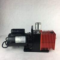 High Vacuum Pump Alcatel 2004A GE Motor 5KC37NN76X Industrial