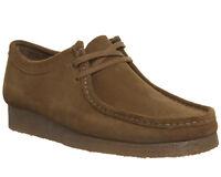 Mens Clarks Originals Wallabee Shoes Cola Suede New Casual Shoes